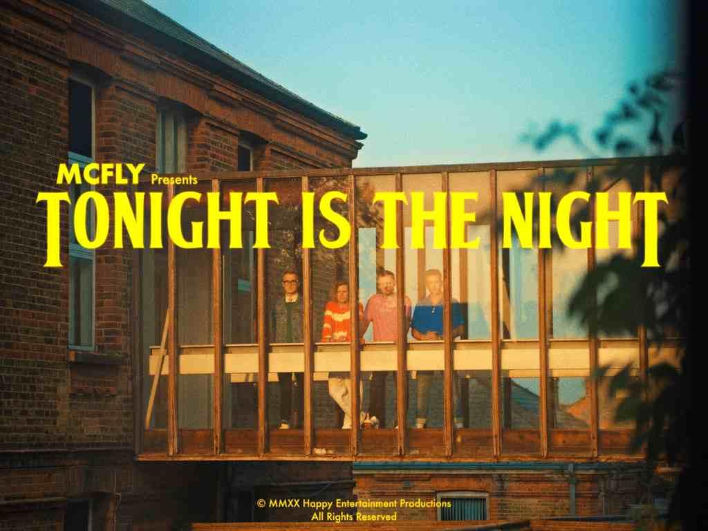 """McFly lança seu novo clipe, """"Tonight is the night"""", junto de uma surpresa para o público brasileiro"""