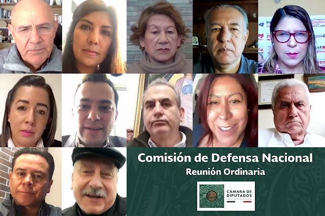 La Comisión de Defensa Nacional de la Cámara de Diputados reconoce labor del Ejército Mexicano
