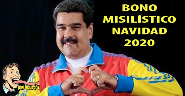Maduro entregará Bono Misilístico Navideño de 2 millones de Bolívares