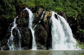 Cascata da Usina, no Parque Caldas da Prata
