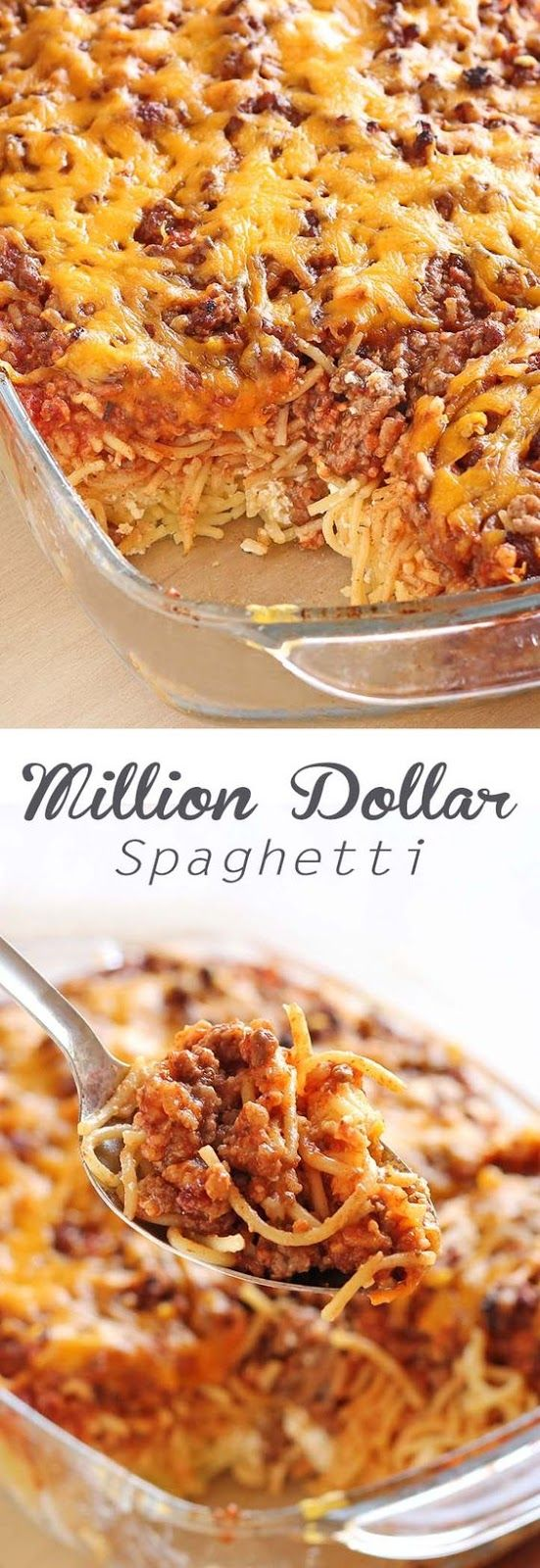 Creamy Million Dollar Spaghetti