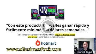 video ebusiness pack