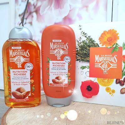 Le Petit Marseillais gamme Infusion nutrition intense