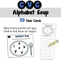 CVC Alphabet Soup