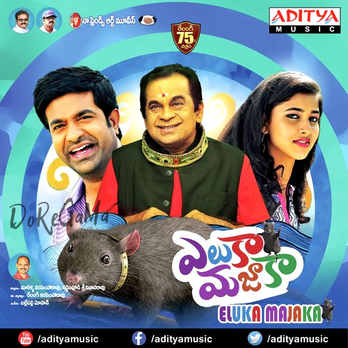 Eluka Majaka (2015) Telugu posters wallpapers stills pics cd front cover