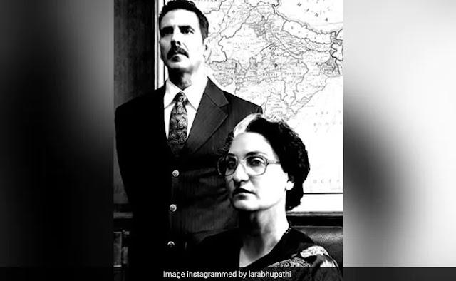 """""""एक बार मिलने वाला अवसर"""": लौरा दत्ता ने इंदिरा गांधी की बेल बॉटम को चित्रित करते हुए कहा: """"इसके पीछे बहुत सारा होमवर्क और शोध है।"""""""