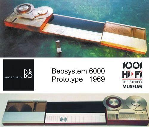 Beosystem 6000 prototype 1969