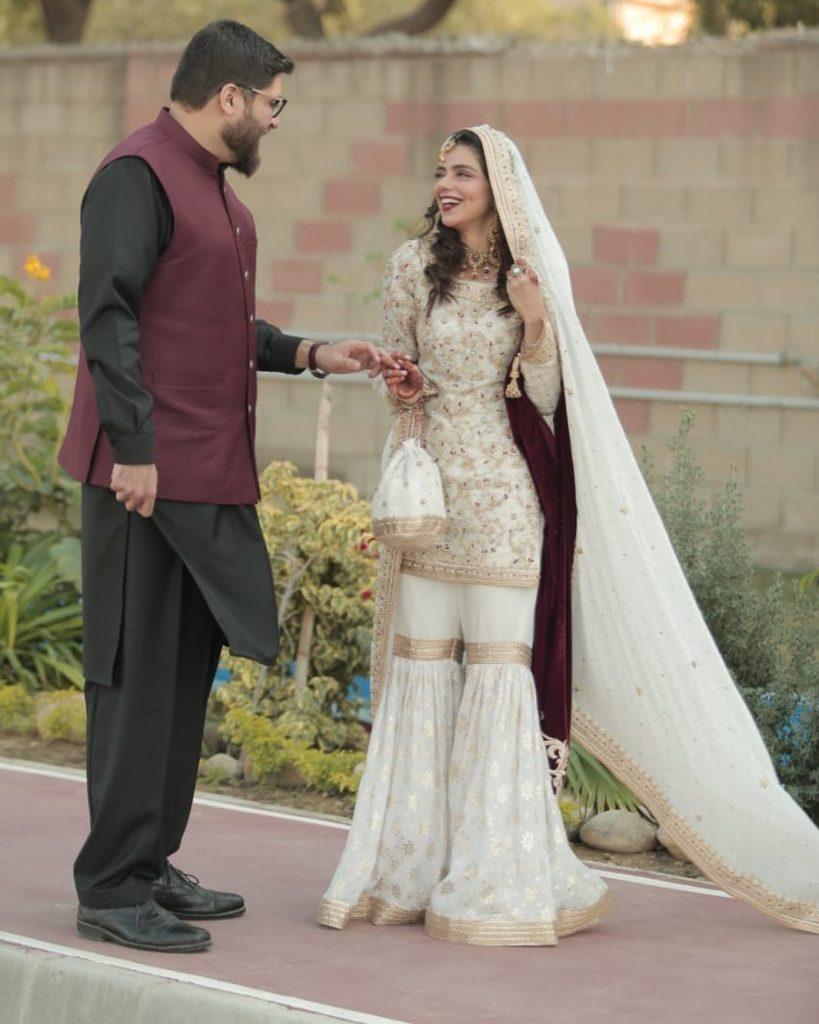 Srha Asghar wedding pics