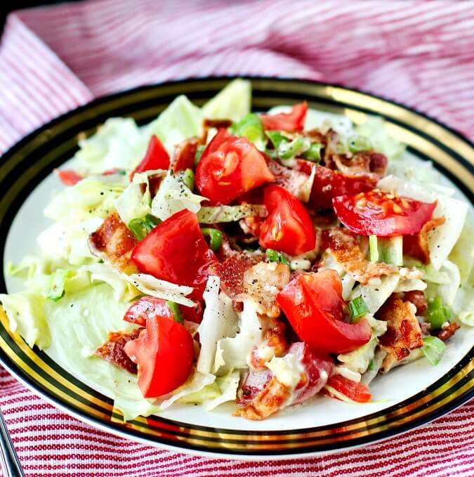 Wedge salad chopped