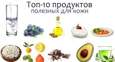 топ 10 продуктов для молодости кожи