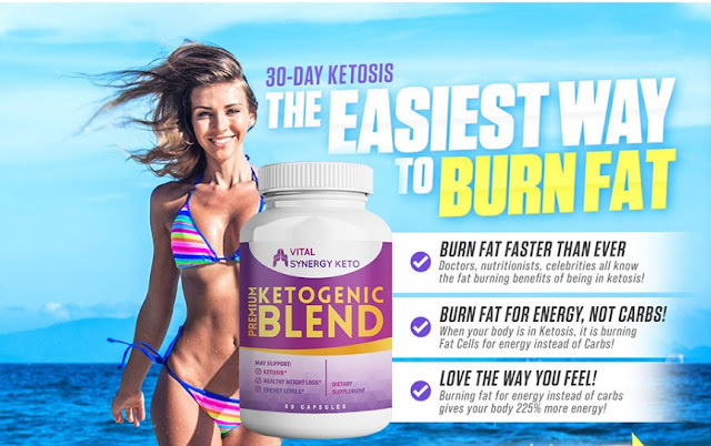 Vital Synergy Keto Reviews - Reduce Unwanted Fat & Calories Quickly!