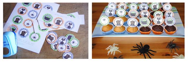 printables voor halloween, printables kopen, halloween, printable, traktatie printables, printable voor cupcakes, halloween cupcakes