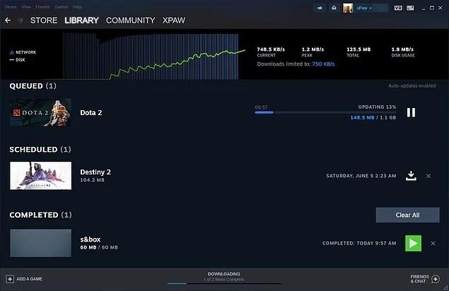 Steam, İndirme Sayfasını Değiştiriyor ve Yeni Özellikler Geliyor