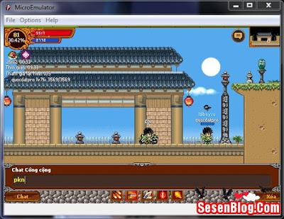 (share) Phiên Bản Ninja Hỗ Trợ Lôi Đài