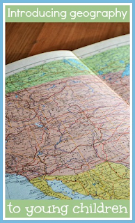 Introducing maps and geography to young children