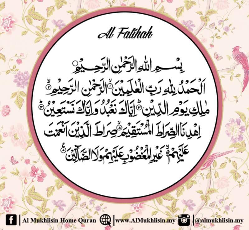 Membaca Al-Fatihah