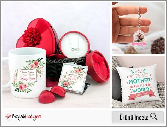 anneye hediye fikirleri