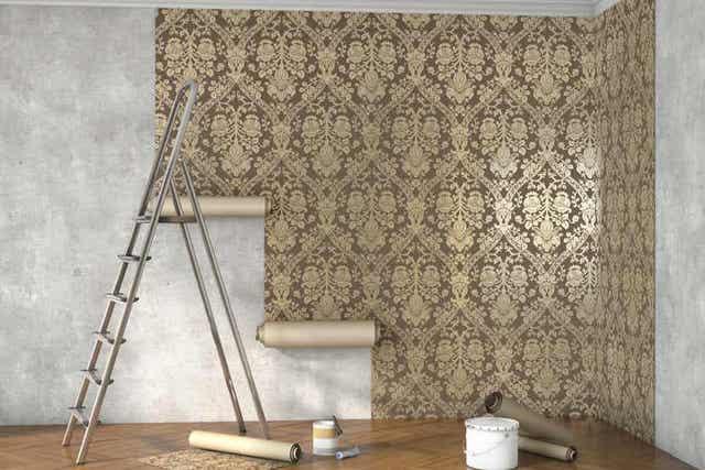 cara-memasang-wallpaper-di-dinding