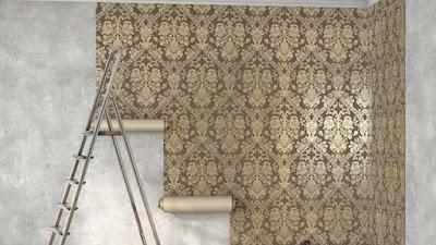 Cara Memasang Wallpaper di Dinding