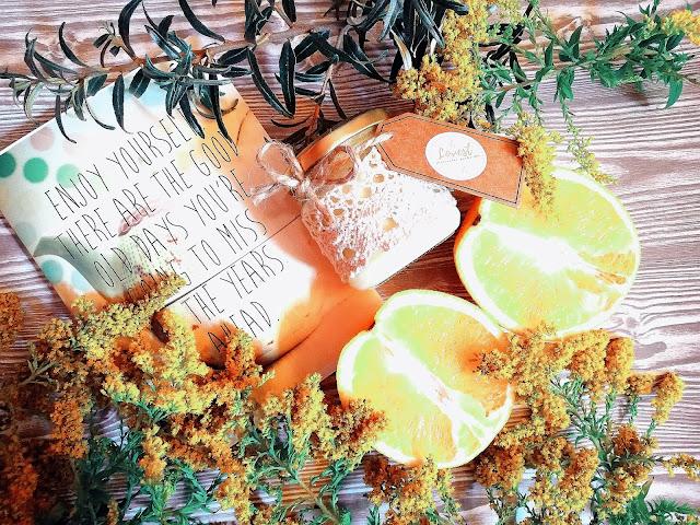 85. Jesień pełna energii... Pomarańcza & Rozmaryn Lovest Candle