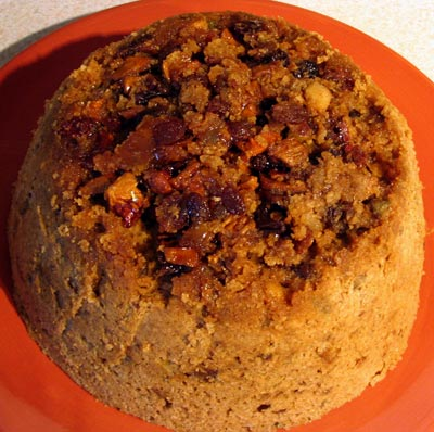 Tropical Christmas Steamed Pudding