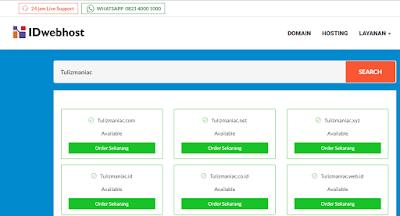 Pengalaman Singkat Perpanjangan Domain Di IDWEBHOST