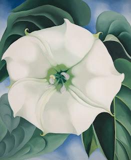 Georgia O'keeffe : Jimson Weed/White Flower No. 1, 1932 Tate Modern Londres