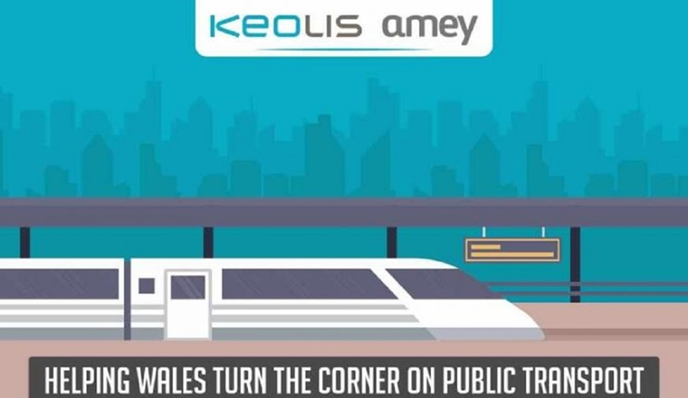 KeolisAmey helping Wales Turn the Corner on Public Transport #Infographic