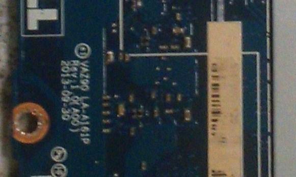 LA-A161P REV 1.0(A00) VAZ90 Dell XPS 11 Ultrabook Bios