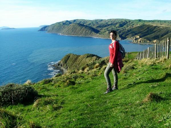 La costa de Nueva Zelanda es una sucesión de hermosos acantilados
