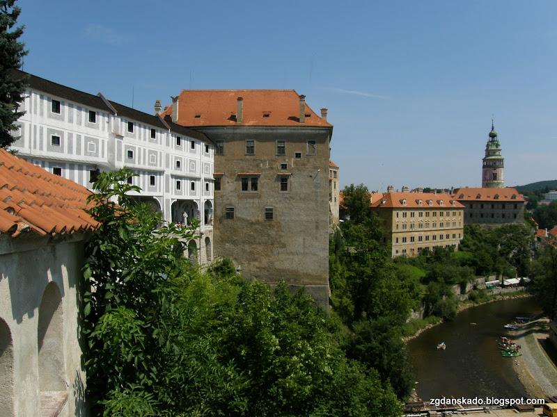 Czeski Krumlov - Zamek