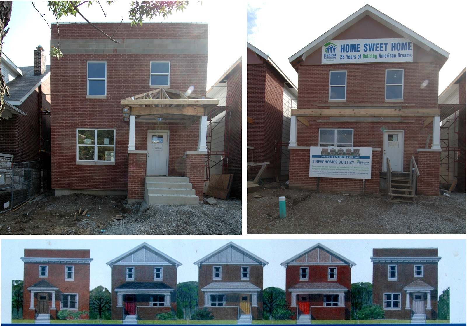 The Art Of Construction Habitat For Humanity Saint Louis Diverse Design And Leed Platinum Performance