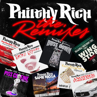 Philthy Rich - The Remixes (2016) - Album Download, Itunes Cover, Official Cover, Album CD Cover Art, Tracklist