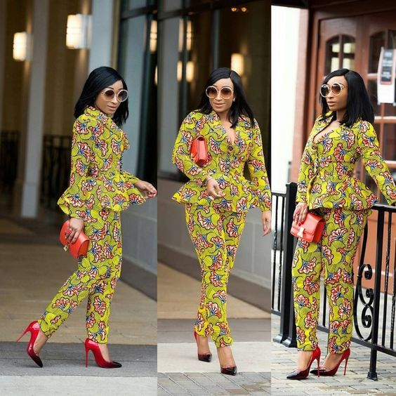 Collection of Beautiful Ankara ladies trouser and top styles 2020