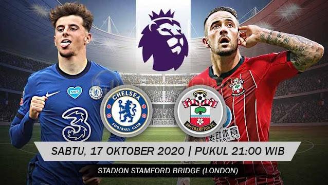 Prediksi Chelsea Vs Southampton, Sabtu 17 Oktober 2020 Pukul 21.00 WIB @ NET TV