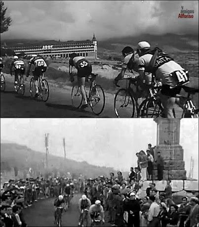 El Alto del León y la Vuelta Ciclista a España
