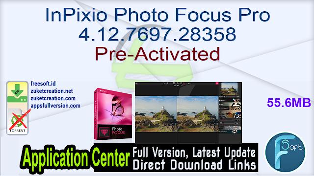 InPixio Photo Focus Pro 4.12.7697.28358 Pre-Activated