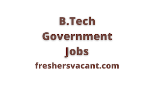 image results as B.Tech Government Jobs