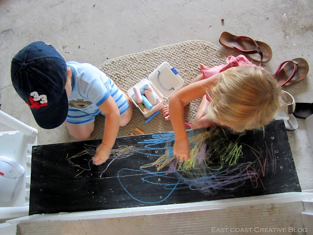 kids love chalkboards