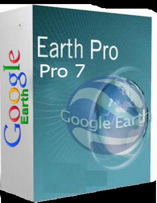 Google Earth Pro 7.3.1.4505 poster box cover