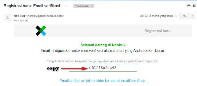 Cara mendaftar di PTC Neobux