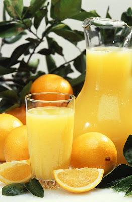 Benefits of fresh orange juice