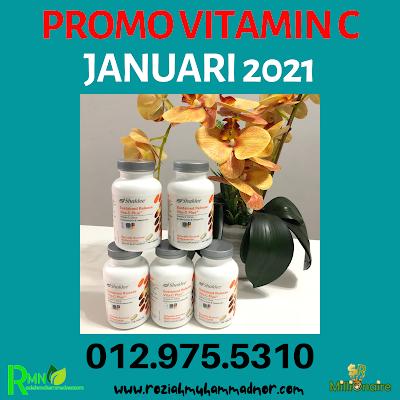 Promosi Vitamin C Shaklee