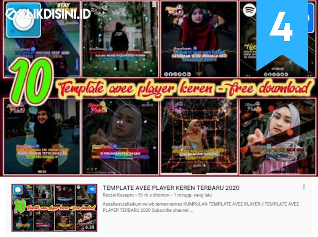 Download Template Avee Player Terbaru 2020 - TOP 50 Template Avee Player Quotes Dan Line Art