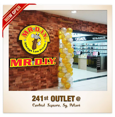 MR.DIY outlet Central Square  Sungai Petani FREE AIRTIGHT FOOD CONTAINERS