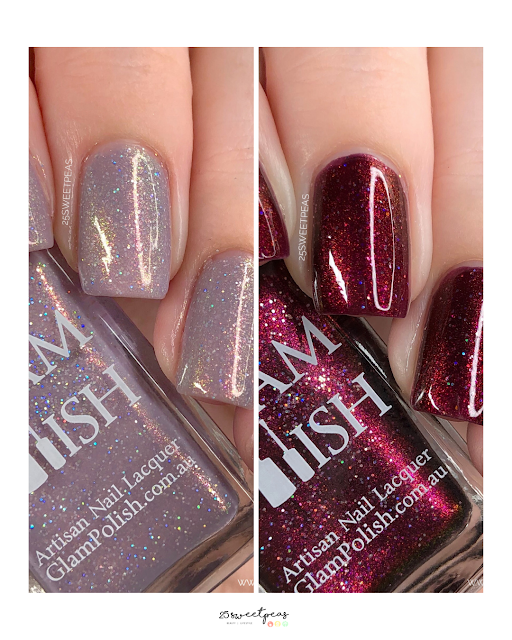 Glam Polish Glam Geek Special Edition Duo Buffy & Angel