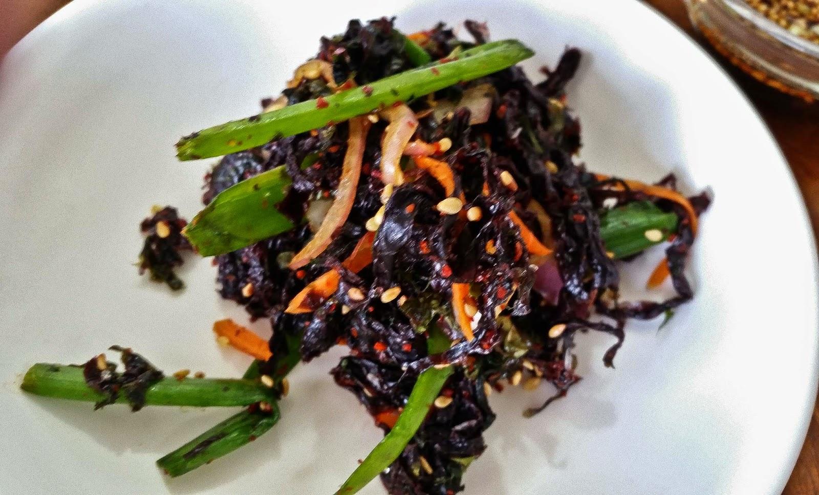 Seaweed Muchim