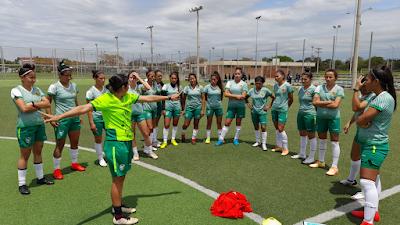 La selección femenina comenzó a trabajar. Foto: Prensa FBF.