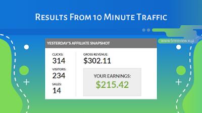10 Minute Traffic Result 1