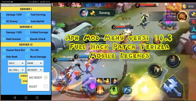 Full Hack Patch Terizla Mobile Legends